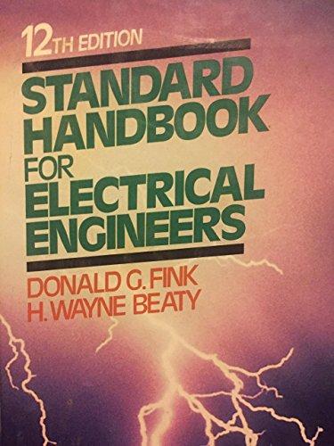9780070209756: Standard Handbook for Electrical Engineers