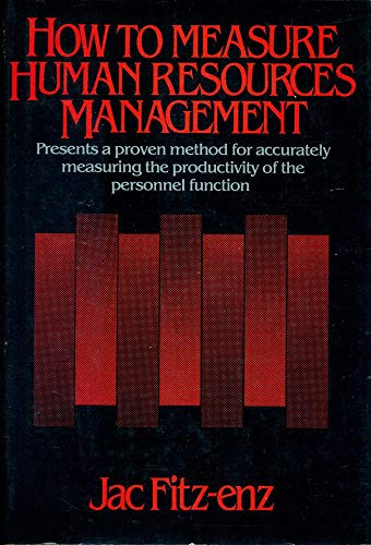 9780070211315: How to measure human resources management