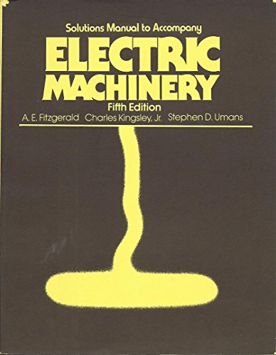 9780070211353: Electric Machinery (Mcgraw Hill Series in Electrical and Computer Engineering)
