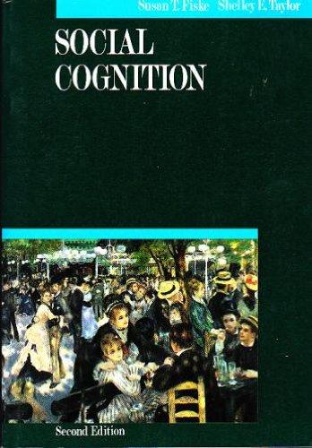 9780070211919: Social Cognition