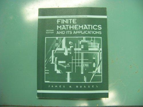 9780070212022: Ri Ptb Finite Mathematics