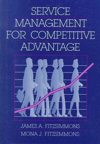 9780070212176: Service Management for Competitive Advantage (Mcgraw Hill Series in Management)