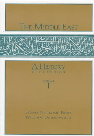 9780070212312: The Middle East: A History, Vol. 1, Fifth Edition