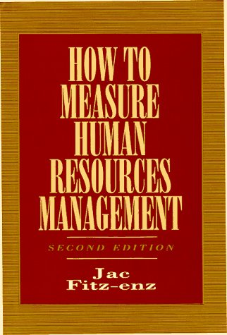 9780070212596: How To Measure Human Resource Management
