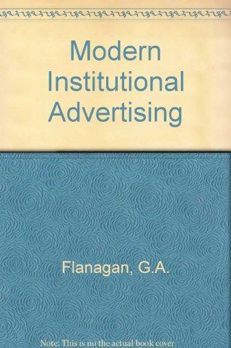 9780070212879: Modern Institutional Advertising