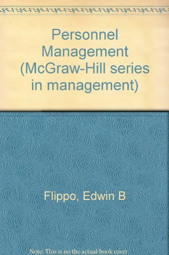 9780070213210: Personnel Management (Mcgraw Hill Series in Management)