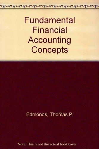 9780070213944: Fundamental Financial Accounting Concepts