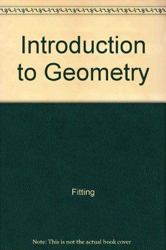9780070214118: Student's Solutions Manual to Accompany Introduction to Geometry