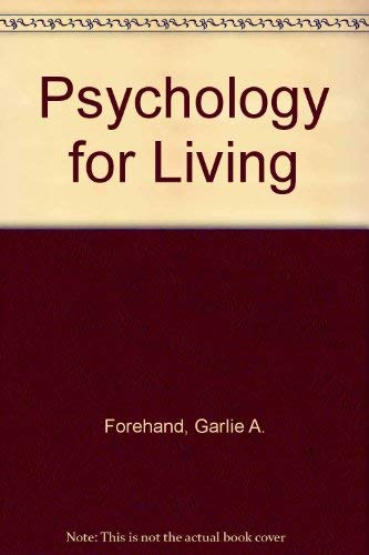 9780070215207: Psychology for Living