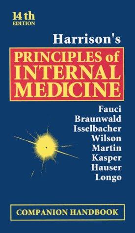 9780070215306: Harrison's Principles of Internal Medicine: Companion Handbook