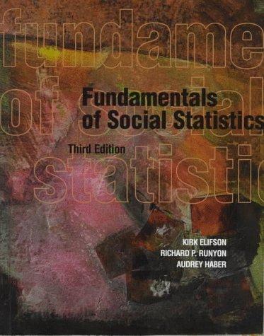 9780070215795: Fundamentals of Social Statistics, Third Edition