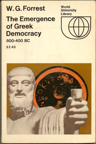 9780070215856: The Emergence of Greek Democracy, 800-400 B.C.