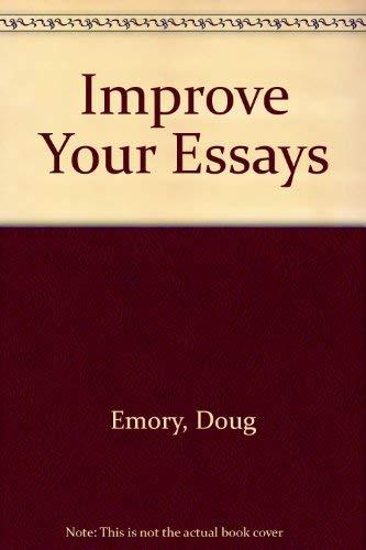 9780070215948: Improve Your Essays