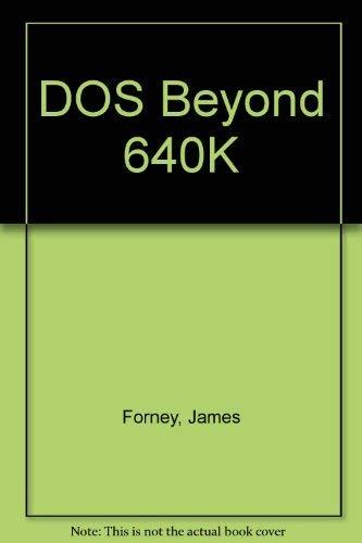 9780070216105: DOS Beyond 640K