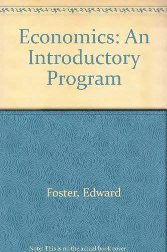 9780070216389: Economics: An Introductory Program
