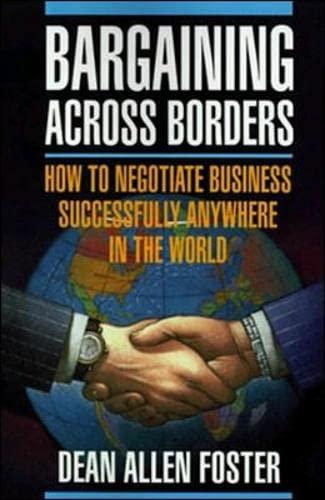 9780070216563: Bargaining Across Borders