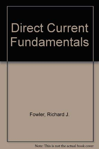 9780070217058: Direct Current Fundamentals
