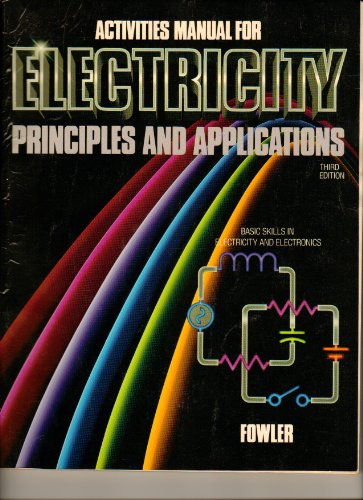 9780070217119: Activities Manual for Electricity Principles and Applications Third (3rd) Edition