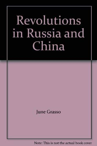 9780070217768: Revolutions in Russia and China