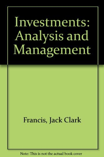 9780070217898: Investments: Analysis and management (McGraw-Hill series in finance)