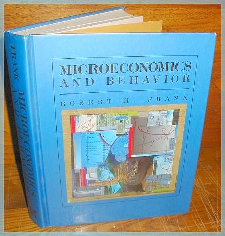 9780070218703: Microeconomics and Behavior