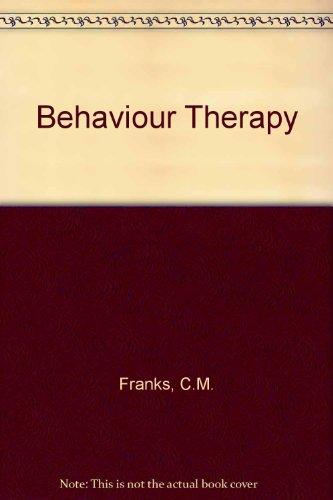 9780070219038: Behaviour Therapy