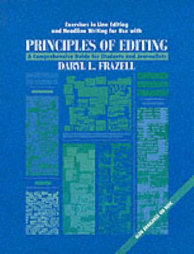 9780070219458: Exercises in Line Editing and Headline Writing for Use With Principles of Editing: A Comprehensive Guide for Students and Journalists