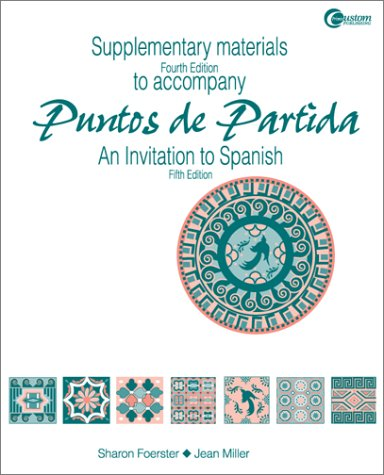9780070219540: Supplementary Materials t/a Puntos de Partida: An Invitation to Spanish 5/e