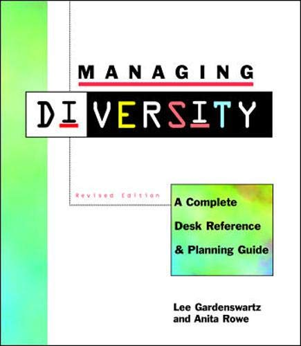 9780070220041: Managing Diversity: A Complete Desk Reference and Planning Guide, Revised Edition