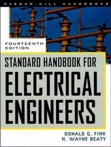 9780070220058: Standard Handbook for Electrical Engineers