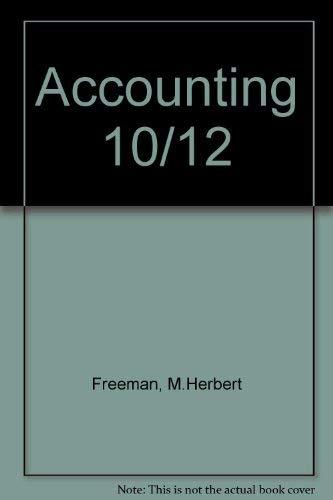 9780070220317: Accounting 10/12