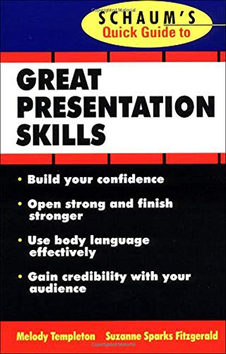 9780070220614: Schaum's Quick Guide to Great Presentations (Quick Guides)
