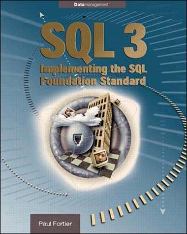 9780070220621: SQL 3: Implmenting the SQL Foundation Standard