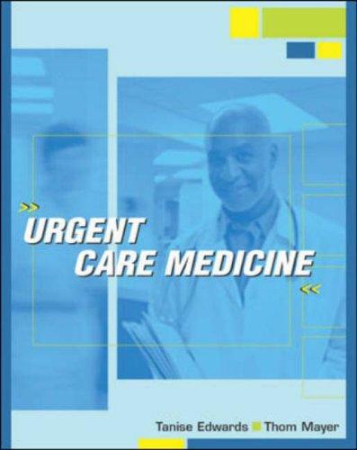 9780070220683: Urgent Care Medicine