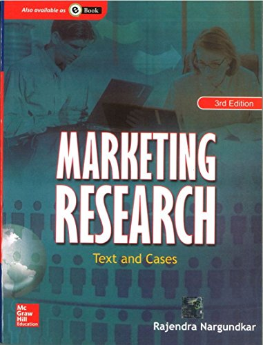 Marketing Research : Text And Cases, 3rd: Nargundkar