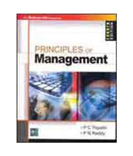 9780070220881: Principles Of Management