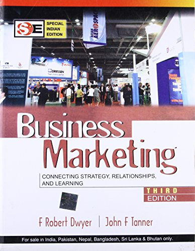 9780070220911: [Business Marketing: Connecting Strategy, Relationships and Learning] [by: F.Robert Dwyer]