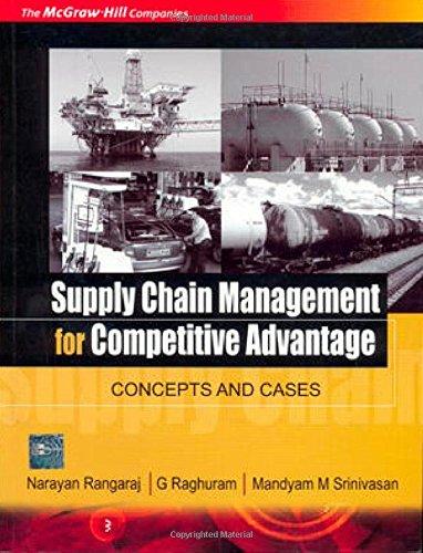 Supply Chain Management for Competitive Advantage: Concepts: G. Raghuram,Mandyam M.