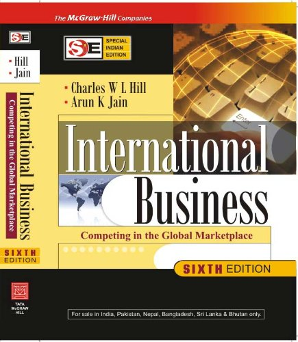 9780070221796: International Business (SIE)