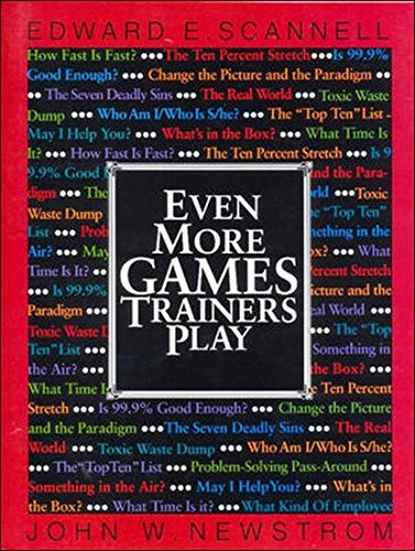 9780070222939: Even More Games Trainers Play