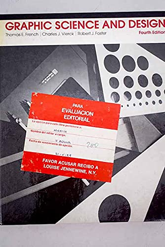 Graphic Science and Design: French, Thomas Ewing