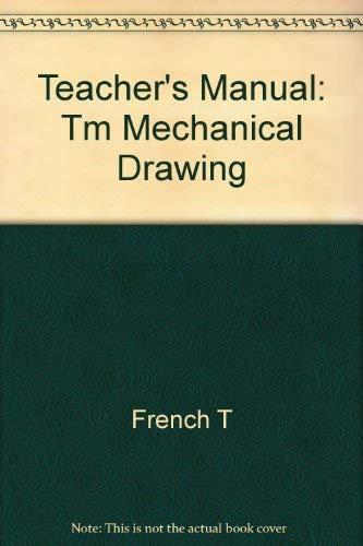 9780070223356: Teacher's Manual: Tm Mechanical Drawing