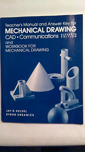 9780070223394: Mechanical Drawing: CAD - Communications: Teacher's Text
