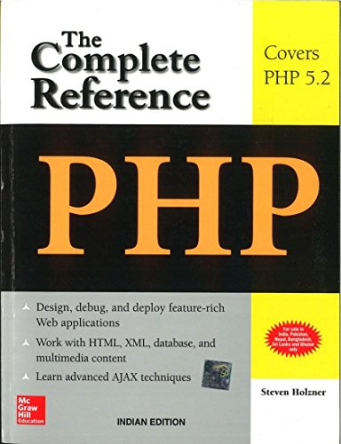 9780070223622: PHP: The Complete Reference