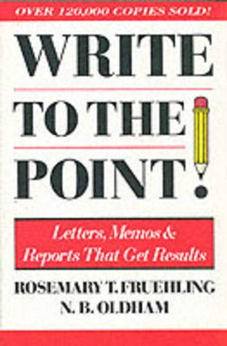 9780070225558: Write to the Point
