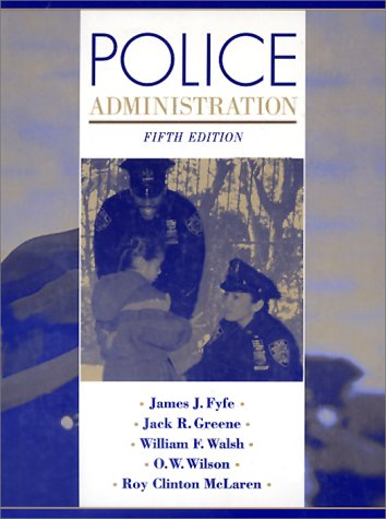 9780070225664: Police Administration