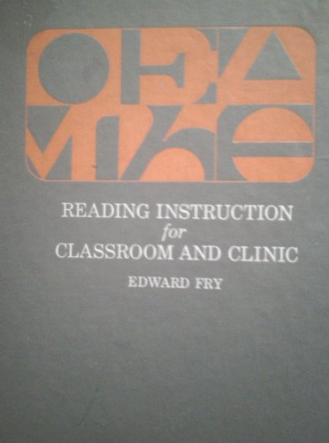 9780070226043: Reading instruction for classroom and clinic