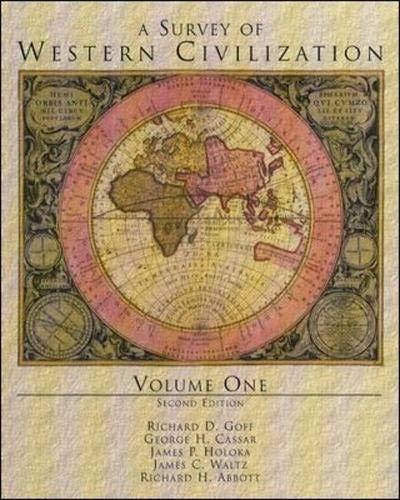 9780070226166: A Survey of Western Civilization, Vol I