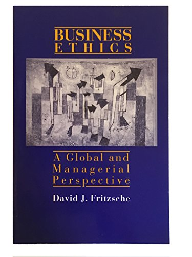 9780070226425: Business Ethics: A Global and Managerial Perspective