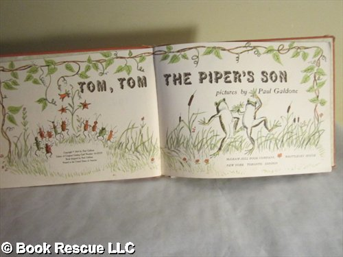 9780070227118: Tom, Tom the Piper's Son